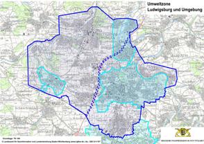 umweltzone stuttgart karte umwelt Plakette   Bietigheim Bissingen