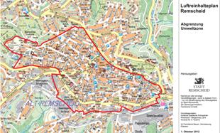 Umweltzone München Karte.Umwelt Plakette Remscheid