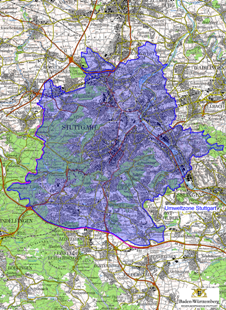 umweltzone stuttgart karte umwelt Plakette   Stuttgart
